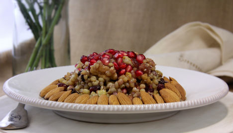 Try This Super Foods Dessert: Wheat Berry Salad Recipe