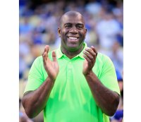 Magic Johnson denies wanting to own the Clippers.