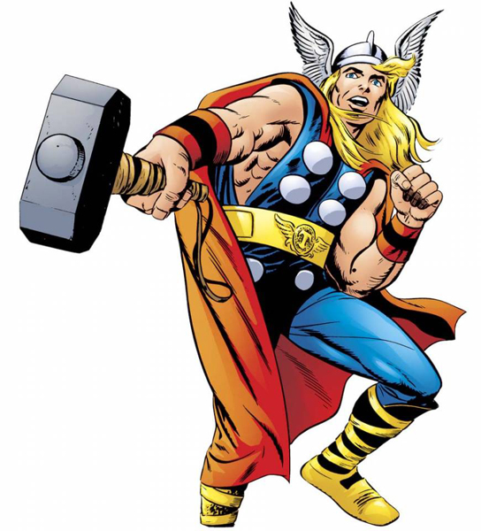 4. He was almost Thor