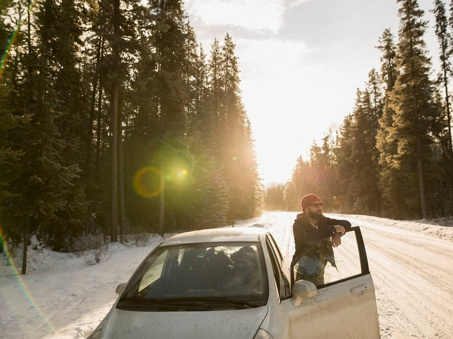 How to Take a Winter Road Trip