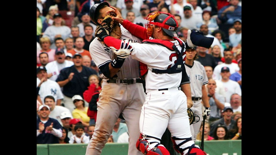 Yankees, Red Sox rivalry, Alex Rodriguez fight