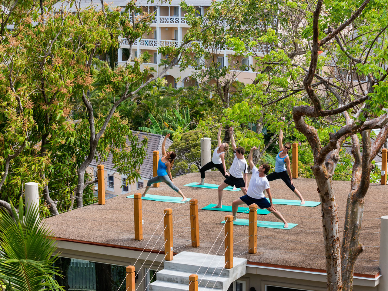 Yoga class at BodyHoliday
