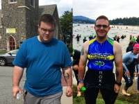 How a 330-lb dad became an Ironman