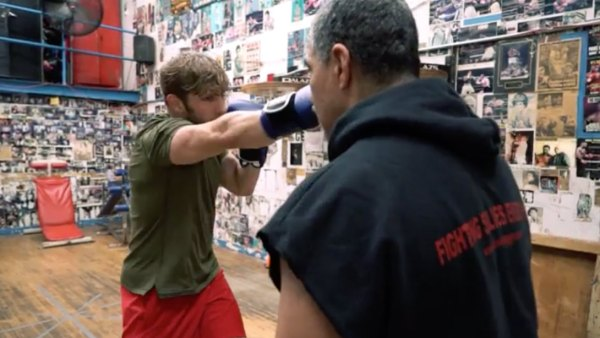 Men's Fitness Deputy Editor Zack Ziegler trains in boxing.