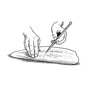How to fillet a fish.