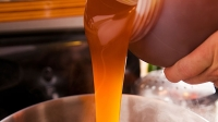 Liquid malt extract (pictured) saves time and simplifies your brew.