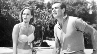 Ursula Andress and Sean Connery in Jamaica for 'Dr. No'.
