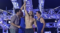 Isaac Caldiero is the first Ninja Warrior to complete the course this year.