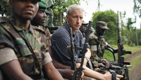Anderson Cooper on a reporting trip to the Democratic Republic of Congo.