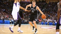 As the 2014-2015 NBA season nears, the Brooklyn Nets' Andrei Kirilenko has increasingly focused on core strength.