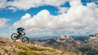 Ian Fohrman and Whit Boucher aim to ride up and down all 18 of Colorado's 14ers that allow bikes.