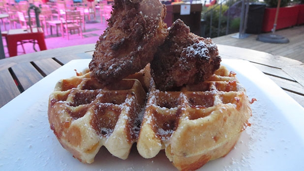 mj-618_348_breakfast-fried-chicken-fried-chicken-and-waffles-with-honey-mustard-maple-syrup-6-takes-on-fried-chicken