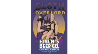Sloth Overlord oatmeal stout from Finch's Beer hits bars and stores this February.