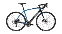 The Trek Domane 4.3 Disc uses hybrid hydraulic disc brakes and costs $2,730.