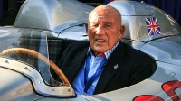 Sir Stirling Moss at the Amelia Island Concours d'Elegance.
