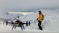 A handful of ski resorts are making an exception to an otherwise sweeping ban on drones with Cape Productions.