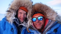 Philip de Roo, left, and Marc Cornelissen went missing while collecting data in the Arctic.