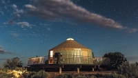 Rent a yurt in Dead Horse Point State Park for supreme solitude and natural beauty.