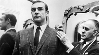 Tailor Anthony Sinclair fits Sean Connery for one of the suits he will wear in the film 'From Russia With Love', 1963.