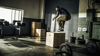 Build explosive power with the box jump, without risking injury.
