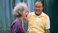 Phyllis Diller and Bob Hope on an episode of 'The Phyllis Diller Happening,' 1967.