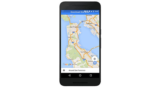 With Google Maps' offline option, you get directions faster, eliminate international roaming charges, and keep your route when you lose coverage.