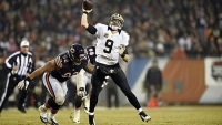 New Orleans Saints Drew Brees uses the Madden NFL video game to train for real-life football.