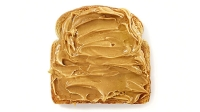 STEEM peanut butter has 150mg of caffeine in a two-tablespoon serving.