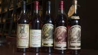More than $100,000 of Pappy, Wild Turkey, and Rare Eagle were stolen since 2008.