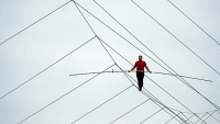 On November 2, Nik Wallenda will attempt his most audacious feat yet: walking across Chicago's skyscrapers.