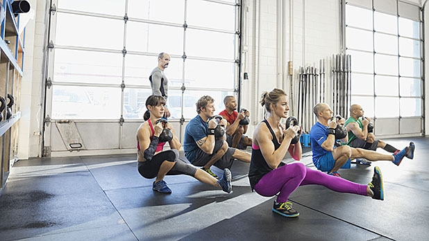 After you've mastered the back squat, try adding pistol squats to your strength routine.