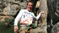 "Lucky Chance, formerly known as Toby Benham, died during a ""death swing"" in Australia's Blue Mountains."