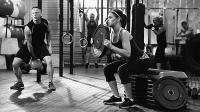 Though similar to a traditional back squat, the box squat forces your body to recruit more muscles.