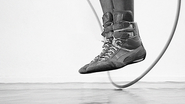 Your four-step progression to perform double-unders.
