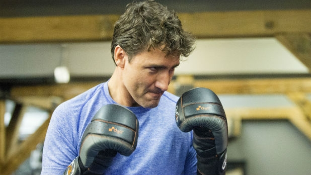 Justin Trudeau might be the fittest world leader.