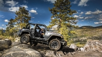 The Jeep Wrangler is the top choice for off-road vehicles.