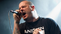 Vocalist Phil Anselmo of Down at Regency Ballroom on January 20, 2013 in San Francisco, California.