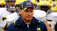 Former University of Michigan coach, Rich Rodriguez.