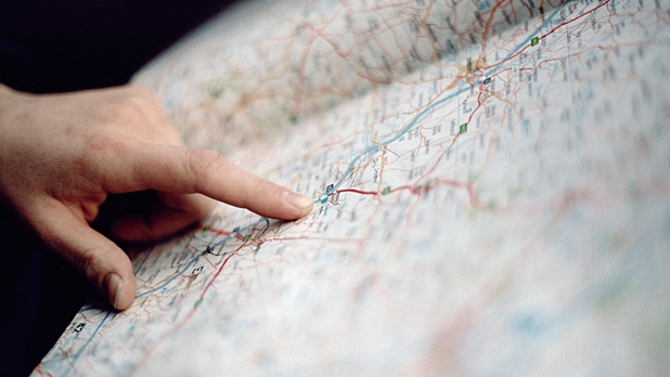 pack a paper map