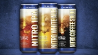 Sam Adams has launched a nitro-carbonated White Ale, IPA, and Coffee Stout.