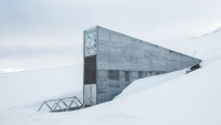 The Seed Vault was designed to preserve crops in case of global disasters.