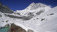 Makalu is the fourth highest mountain in the world.