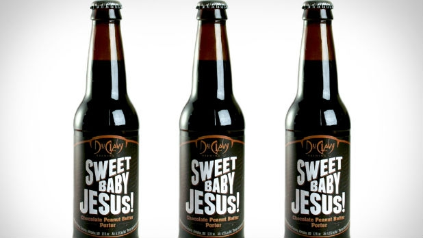 The chocolate peanut butter porter Sweet Baby Jesus has found opponents again.