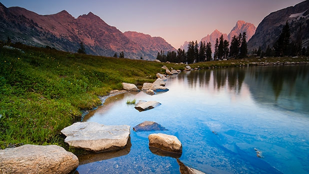The 10 best lakes in america mens journal lake solitude wyoming publicscrutiny Choice Image