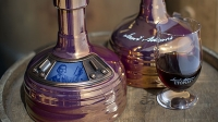 The 2015 release of Sam Adams Utopias is 28 percent alcohol.