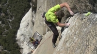 Tommy Caldwell and Kevin Jorgeson's 2010 attempt to free climb the Dawn Wall.