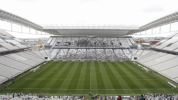 The Arena Corinthians will host the opening match of the FIFA World Cup Brazil 2014 between Brazil and Croatia on June 12.