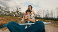 Emile Hirsch and Paul Rudd in Prince Avalanche.