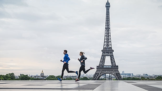 Runners in Paris average the fastest pace of any major city tracked by Strava.