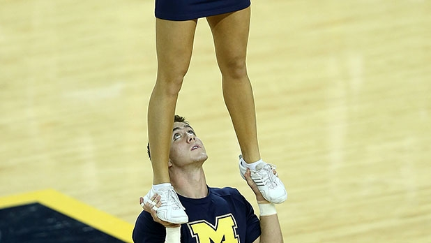 Why Male Cheerleaders Are The Toughest College Athletes